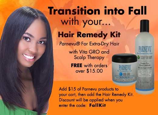 Transition into Fall with your Hair Remedy Kit